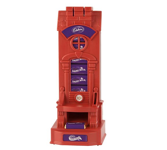 Cadbury's Dairy Milk dispenser
