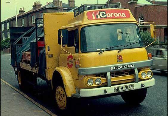 Corona van delivery