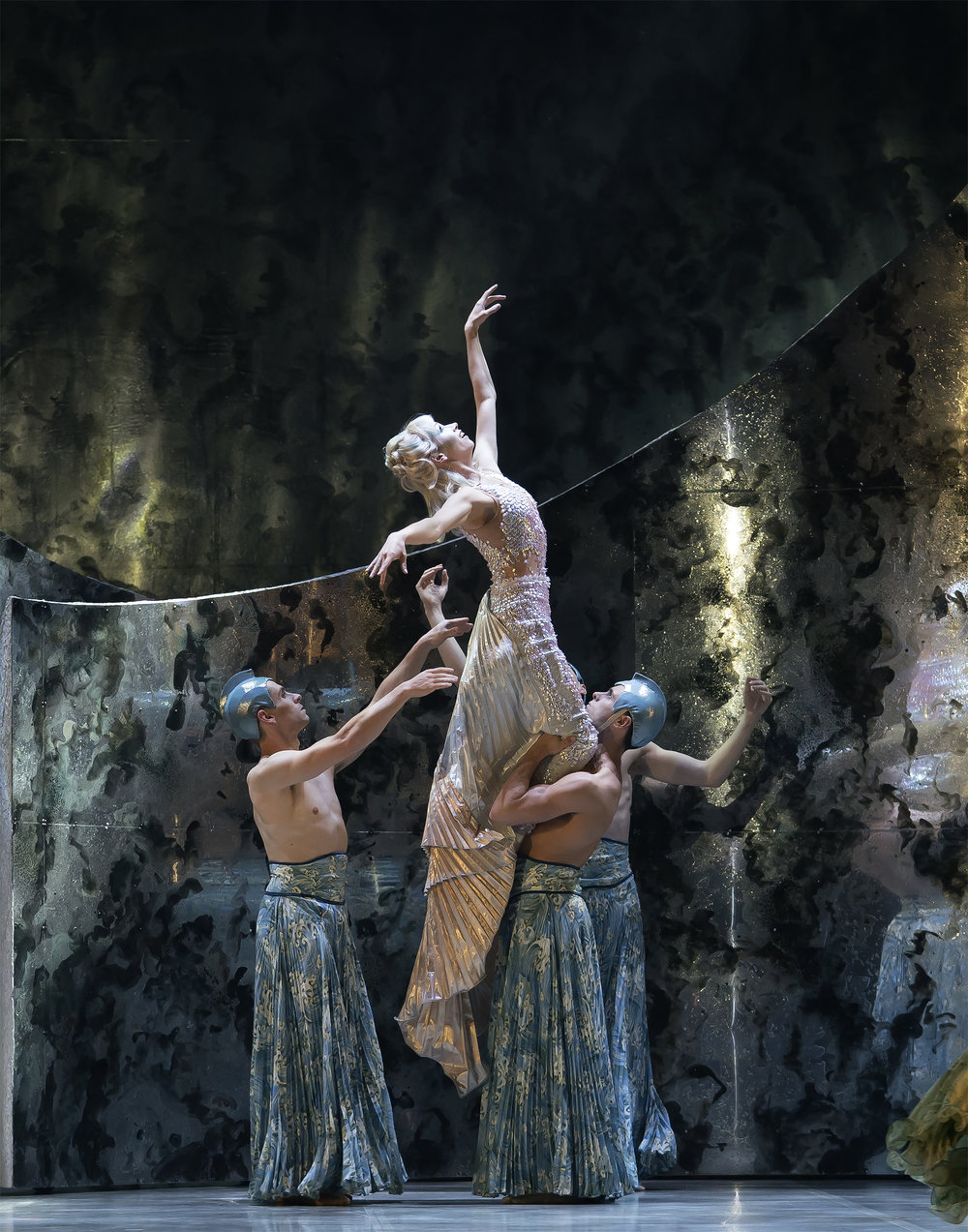 Abigail Prudames as Marilla with Northern Ballet dancers in David Nixon's The Little Mermaid. Photo Emma Kauldhar. (3).jpg