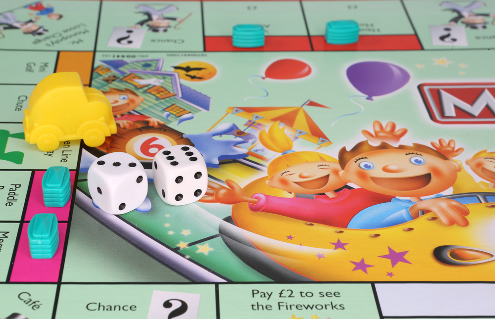 Monopoly reveals the risk of going on a spending spree with no cash buffer