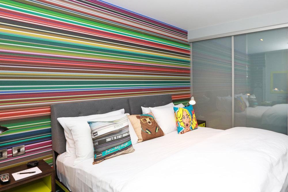 portsmouth - bedroom at Village Hotel Club Portsmouth - 2.jpg