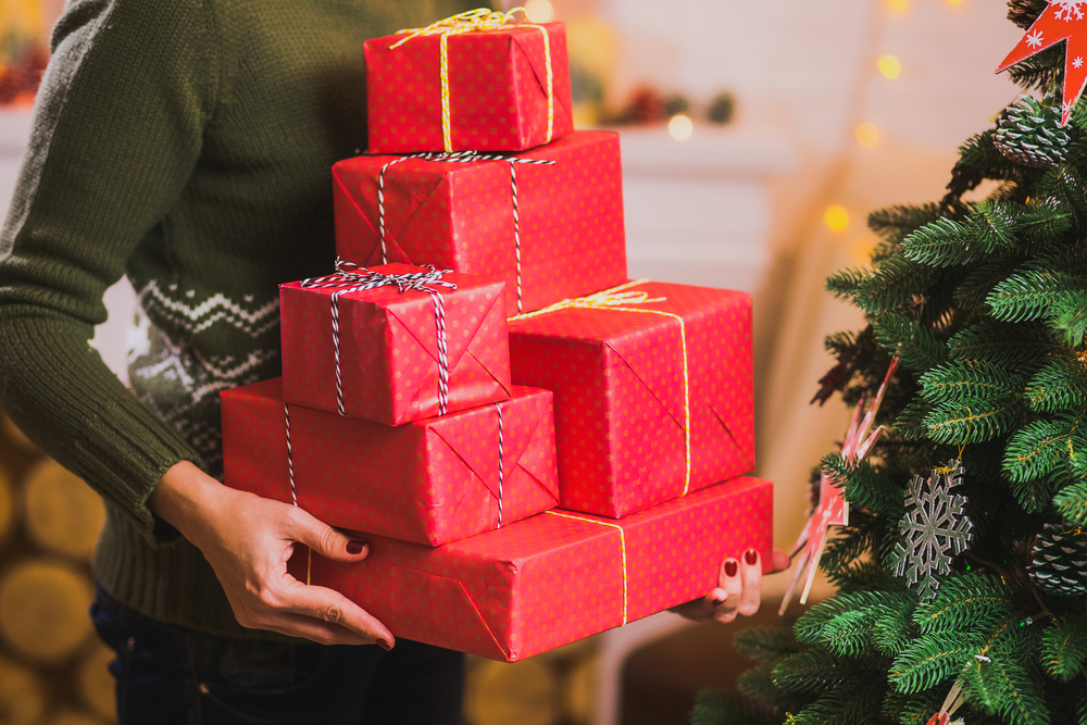 Keep presents out of sight
