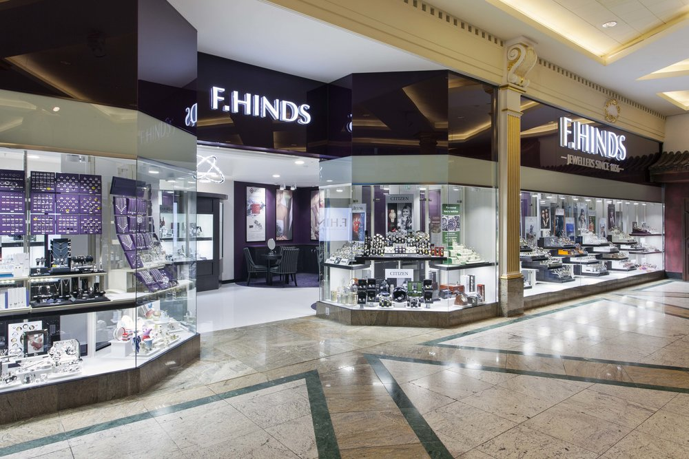 Pick up your Unity Band from F Hinds stores