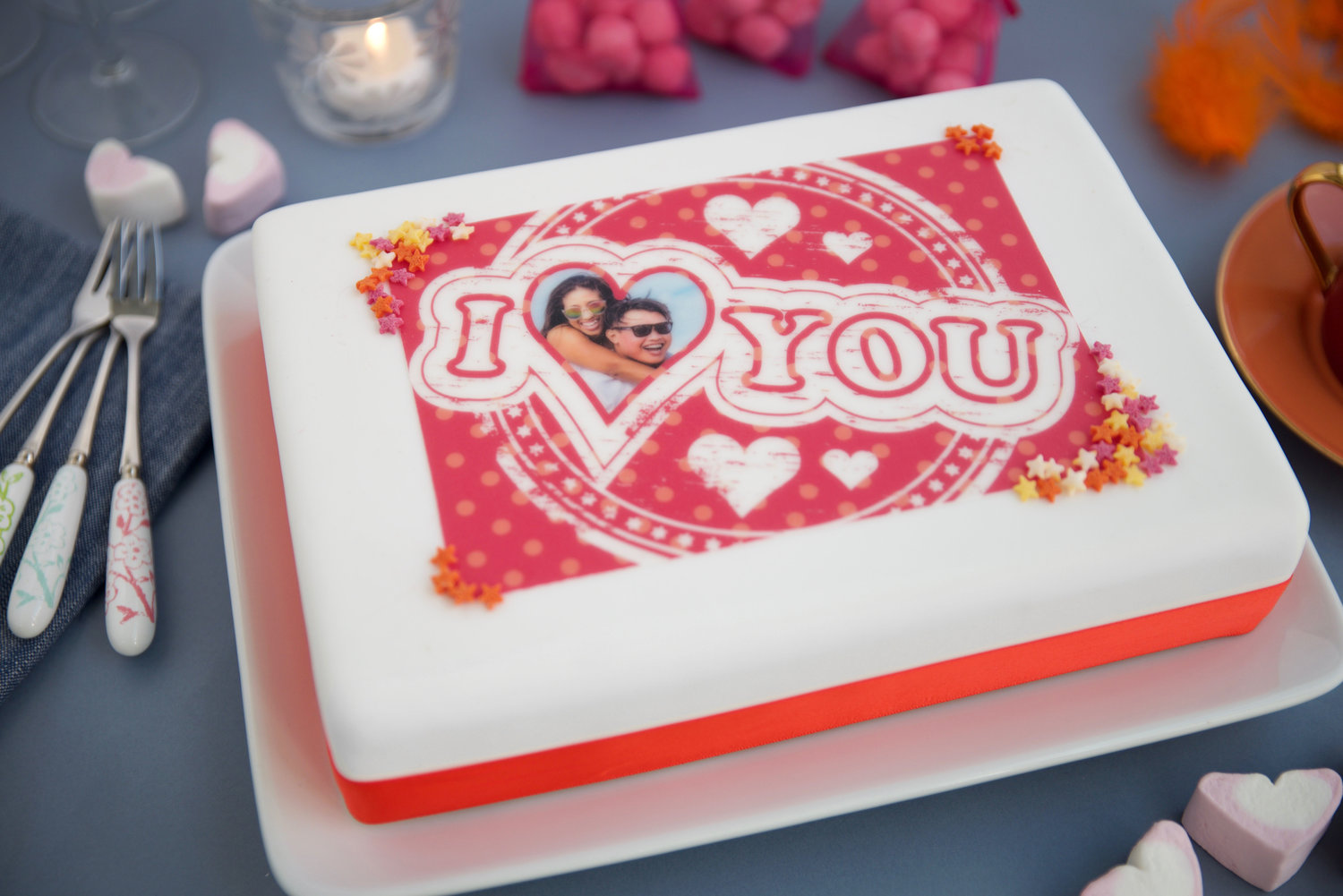 Print Your Beloveds Photo Onto A Cake At Asda And Morrisons For Valentines Day Yours