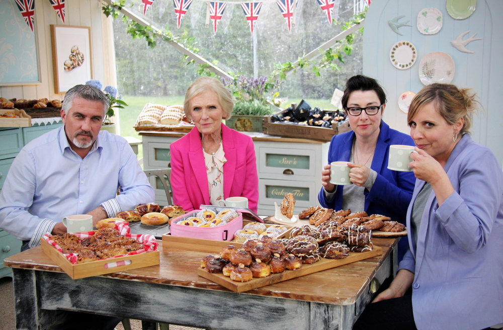 The former GBBO team