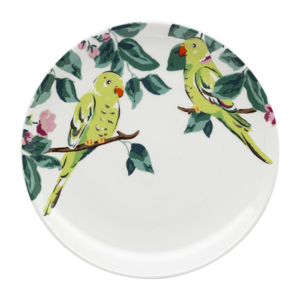 Cath Kidston SS18 Park Wildlife Tea Plate 'Parakeet', £8.jpg