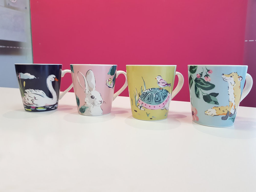Park Wildlife 4 Mini Stanley Mugs (£24.00)