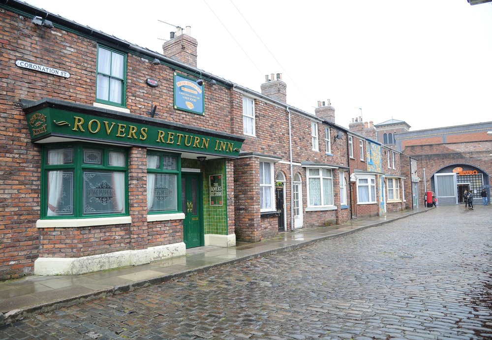 The original Coronation Street set