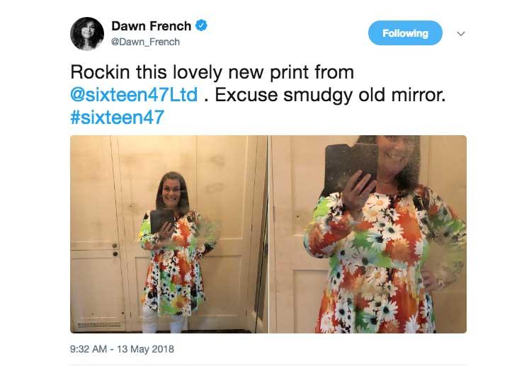 @Dawn_French Twitter