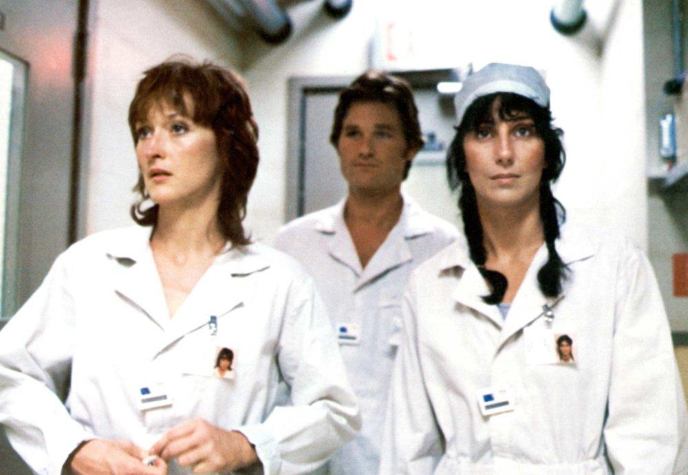 Meryl Streep and Cher starring alongside Kurt Russell in Silkwood (1983)