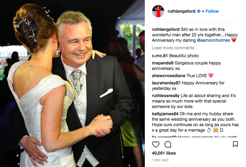 Image: @ruthlangsford instagram