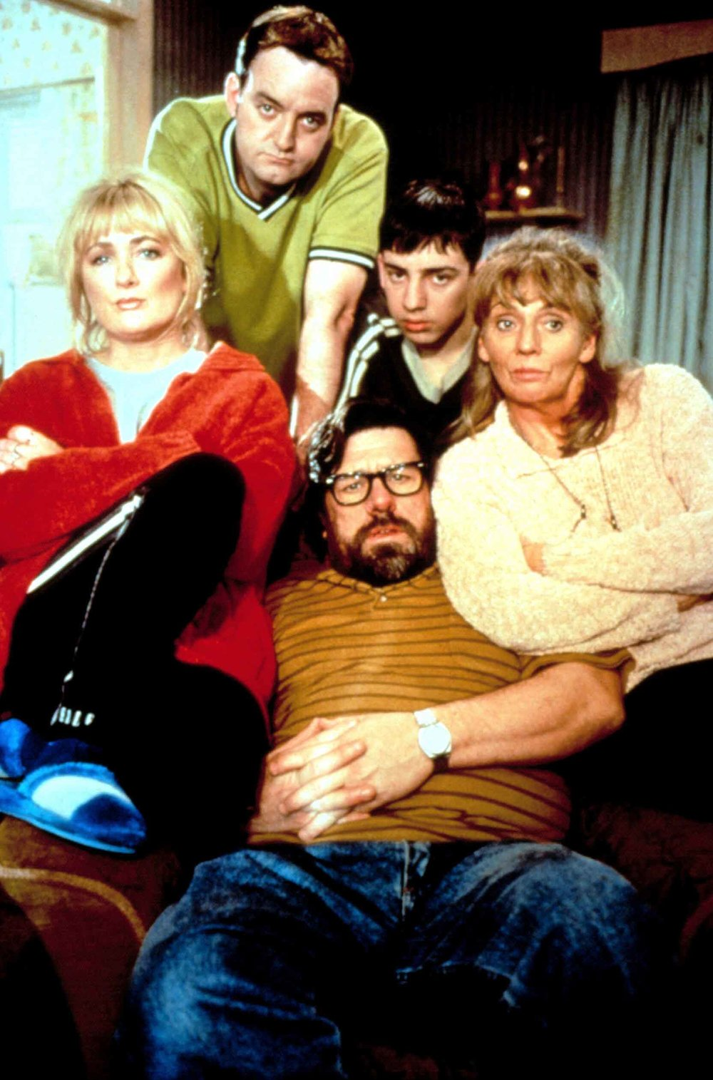 Sue with fellow The Royle Family co-stars