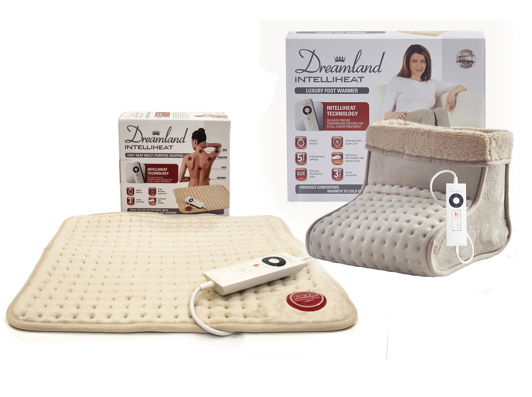 56032ad7a5 Dreamland Intelliheat Heatpad and Foot warmer review — Yours