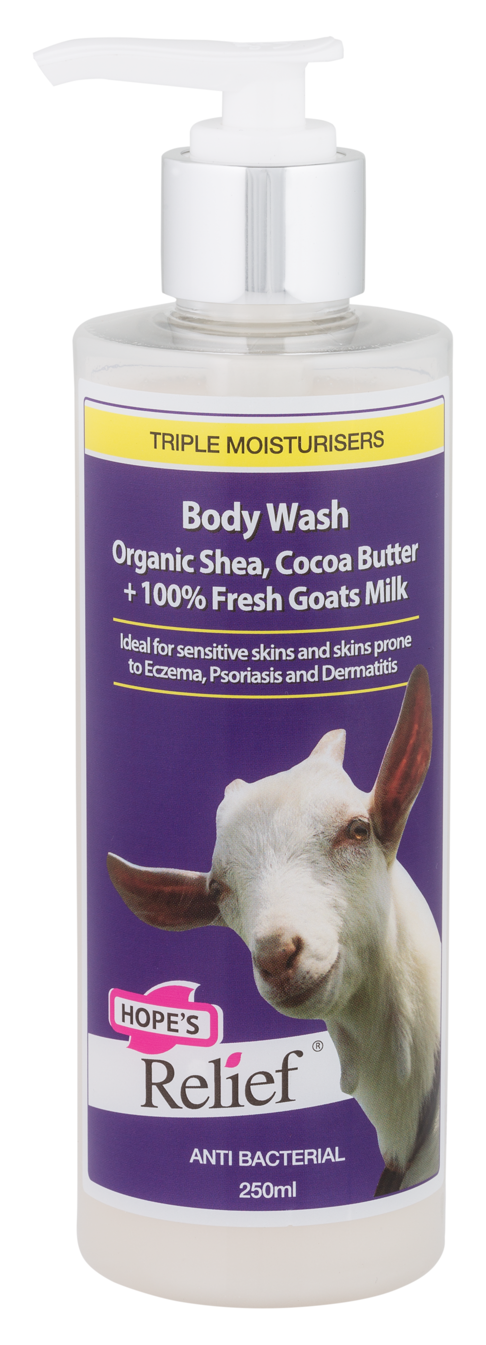 Hopes Body Wash 250ml Pump Front.png