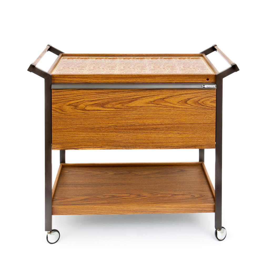The trusty hostess trolley saw us through so many dinner parties    You can follow Yours Retro on  Facebook
