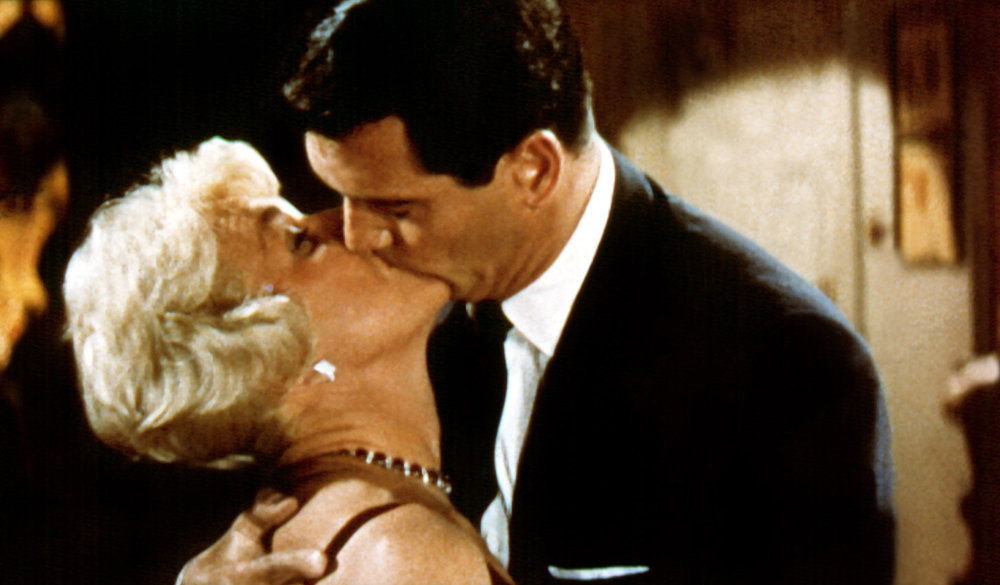 Doris with her great friend Rock Hudson in Pillow Talk