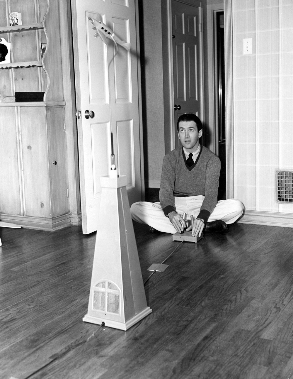 He always loved planes - both of the model and real variety