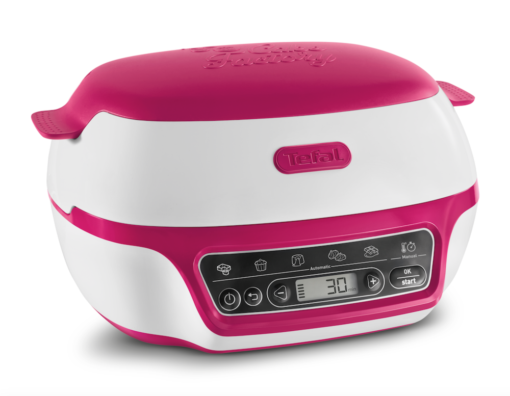 Product: Tefal Cake Factory, available from  www.tefal.co.uk   Price from £169.99  Rating: ★★★★★ (5/5)