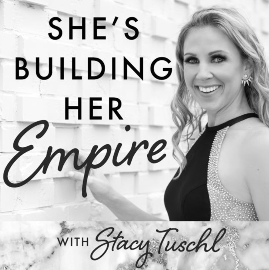 Interview with Stacy Tuschl - Stacy & I talk about how to be a mama & an entrepreneur — especially how to find yourself again after becoming a parent. Listen here.