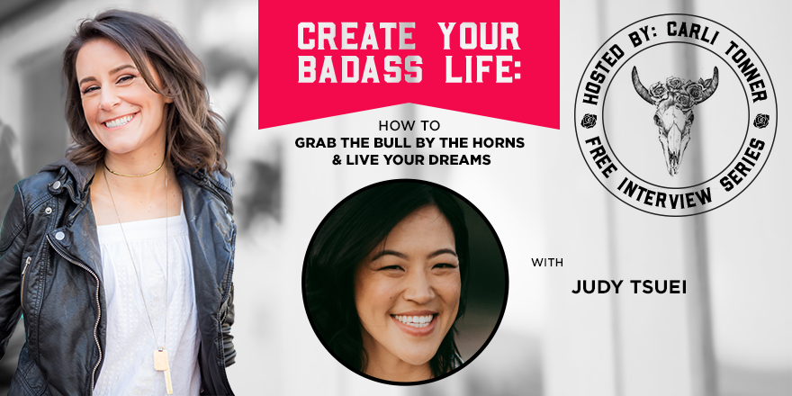Carli Tonner Create Your Badass Life