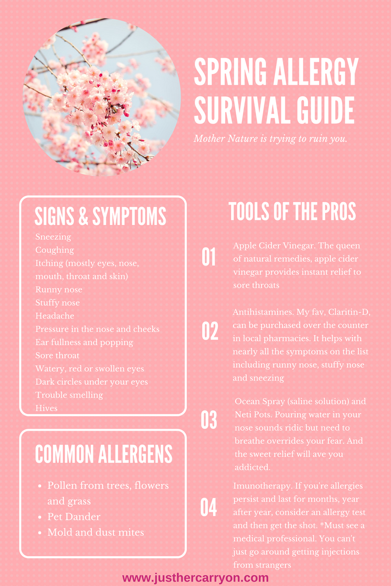Spring Allergy Survival Guide
