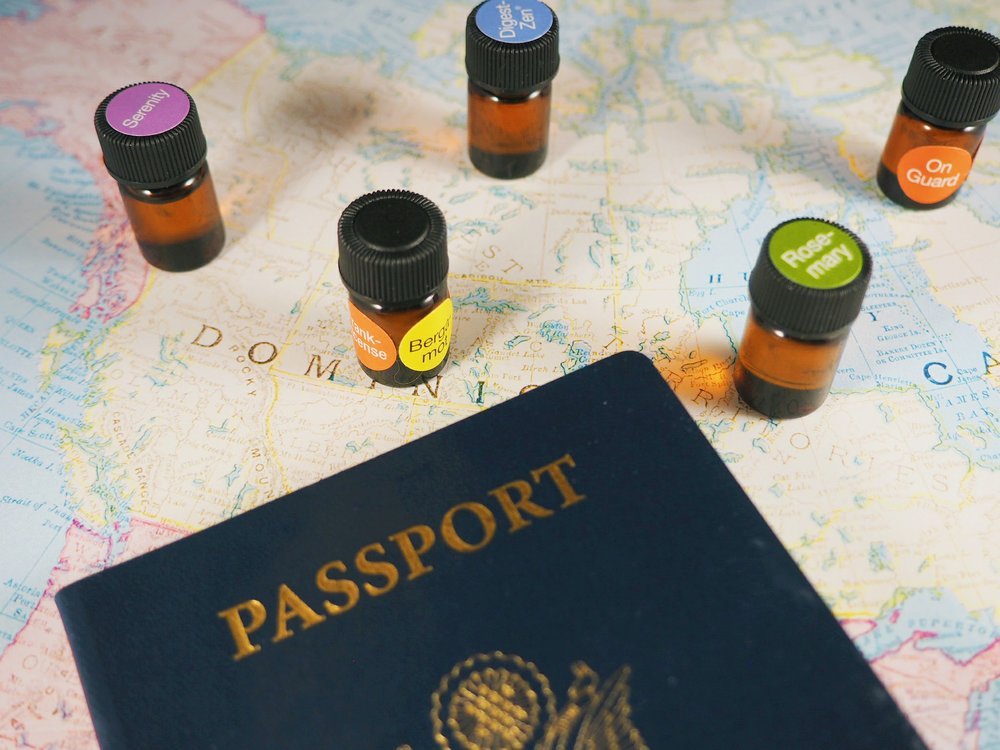 - essential oils for travel