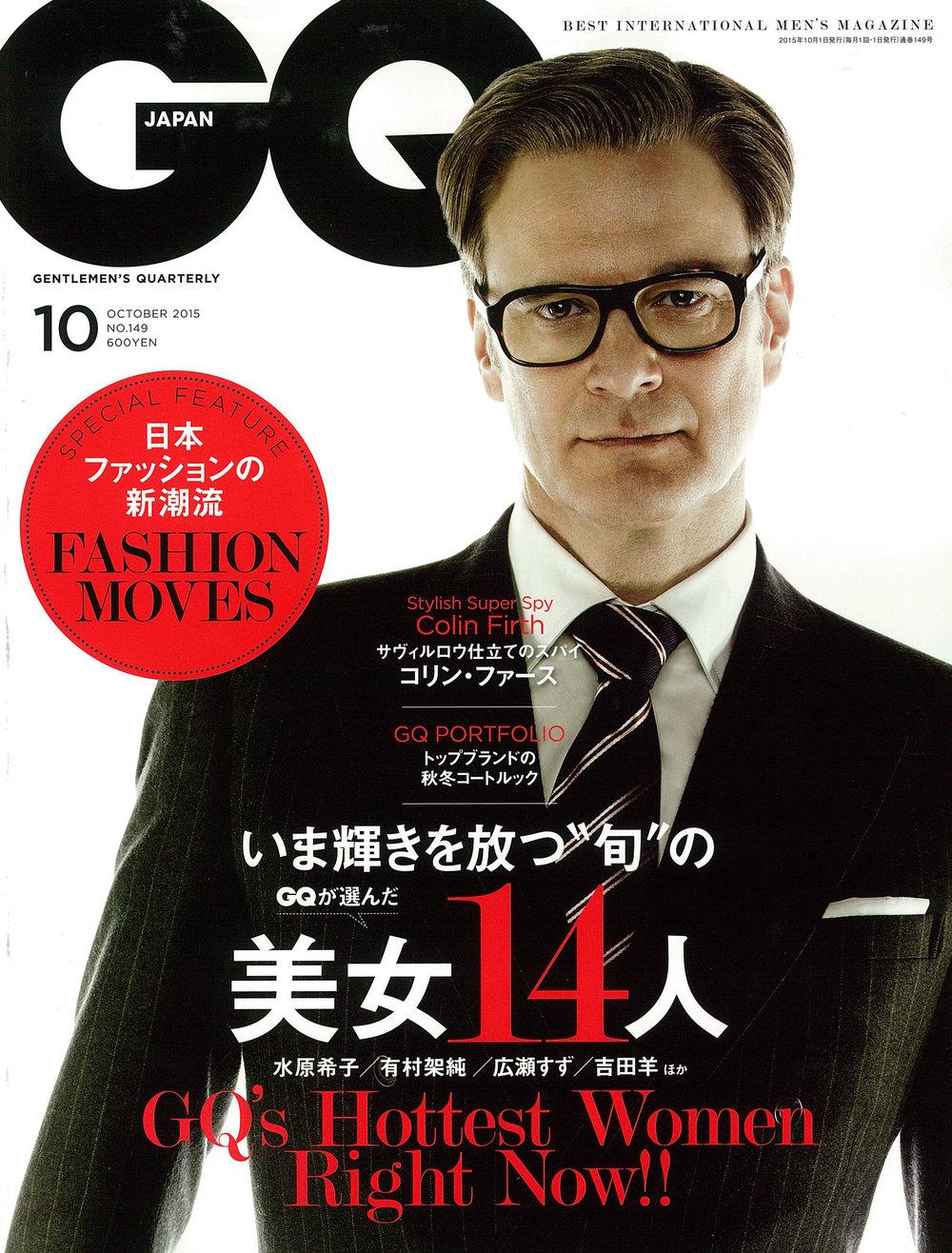 GQ JAPAN | OCTOBER 2015