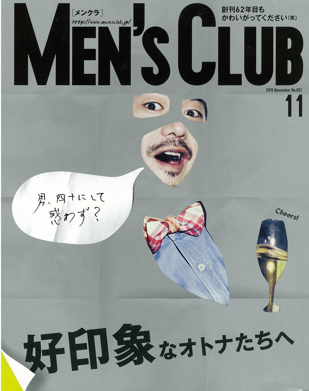 MEN'S CLUB | NOVEMBER 2015