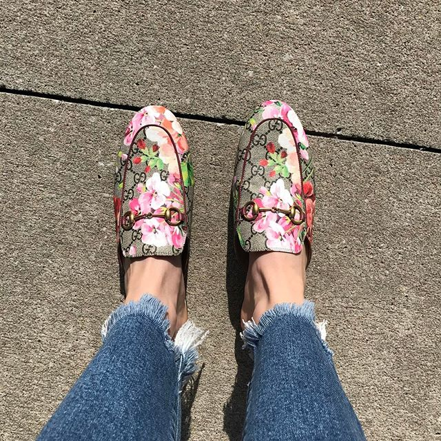 Today's shoes and sunshine 👞☀️💗