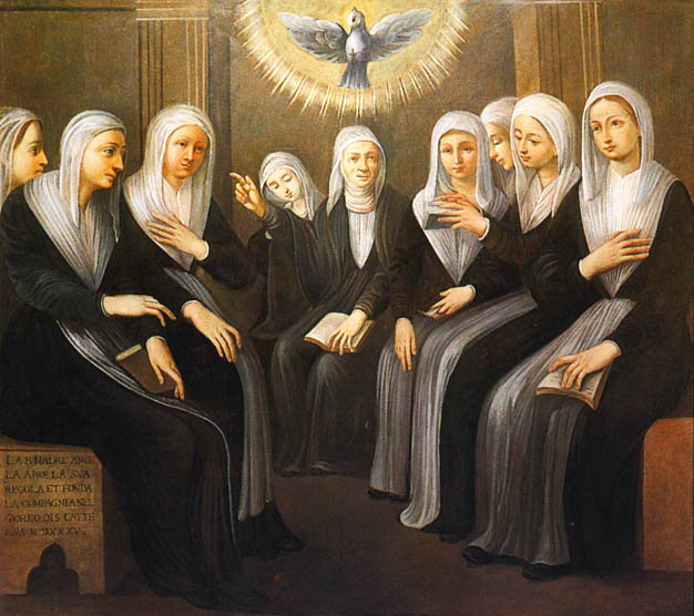 St Angela Merici and daughters.jpg
