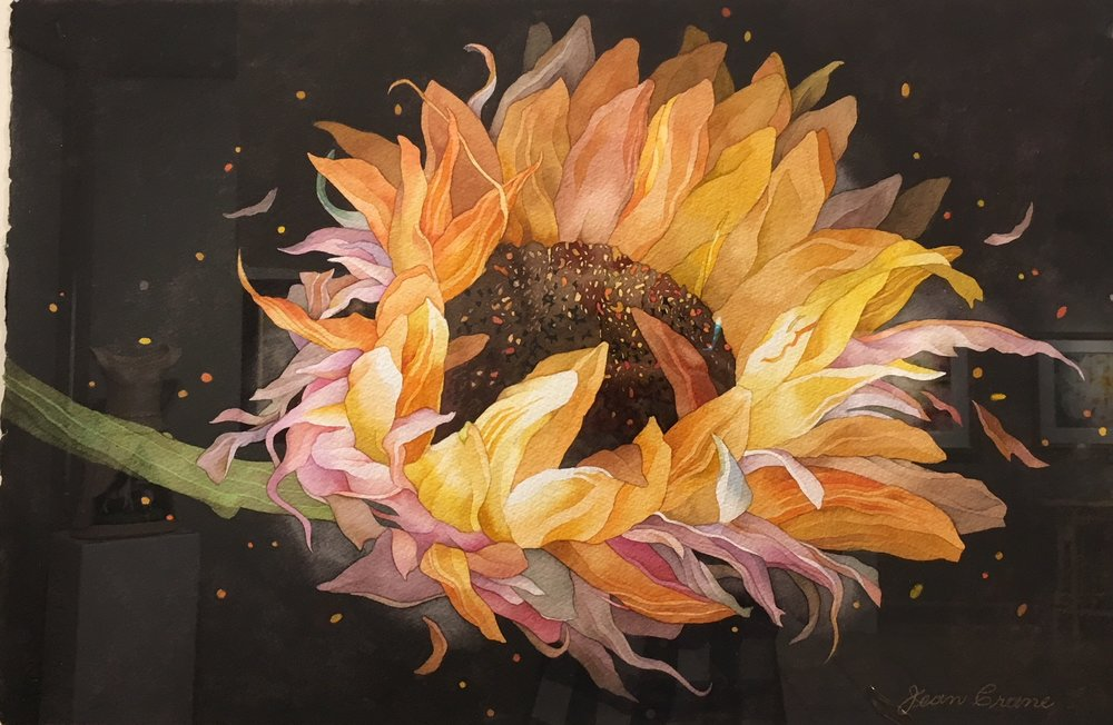 Sunflower in Space
