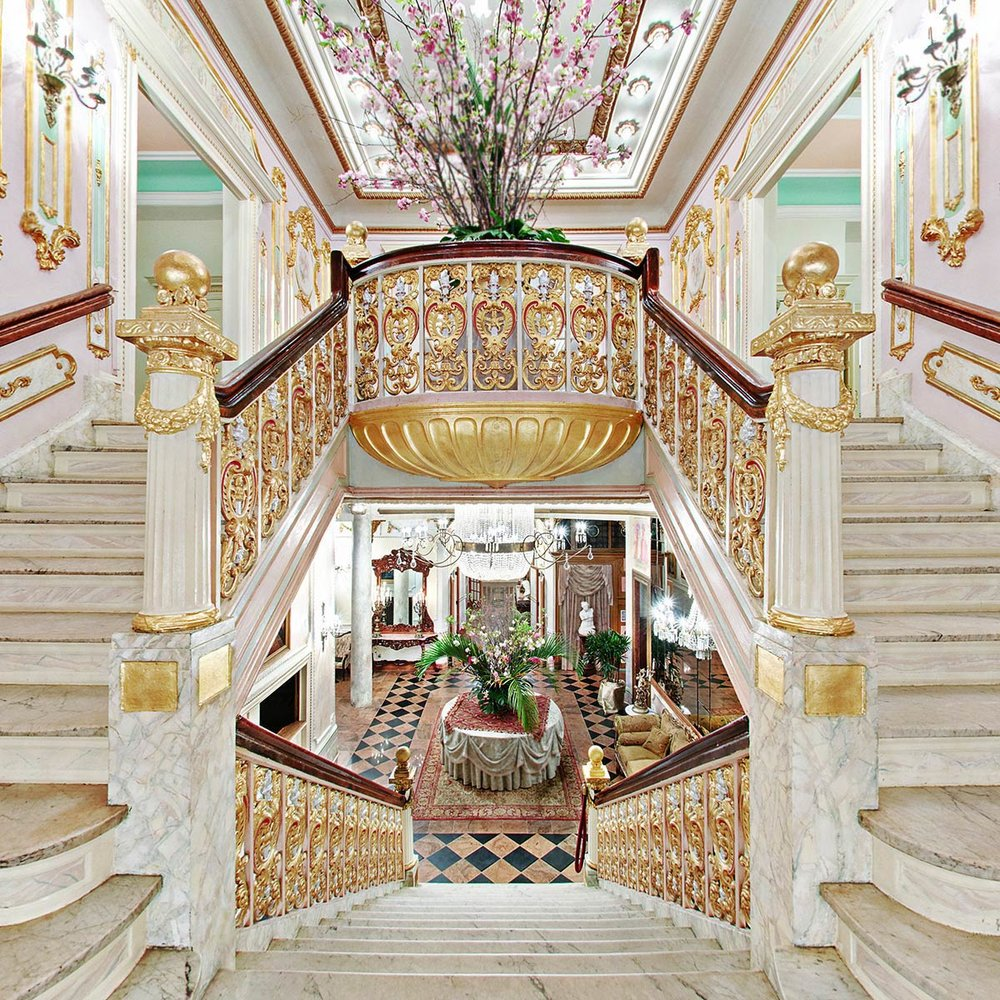 Grand Marble Staircase