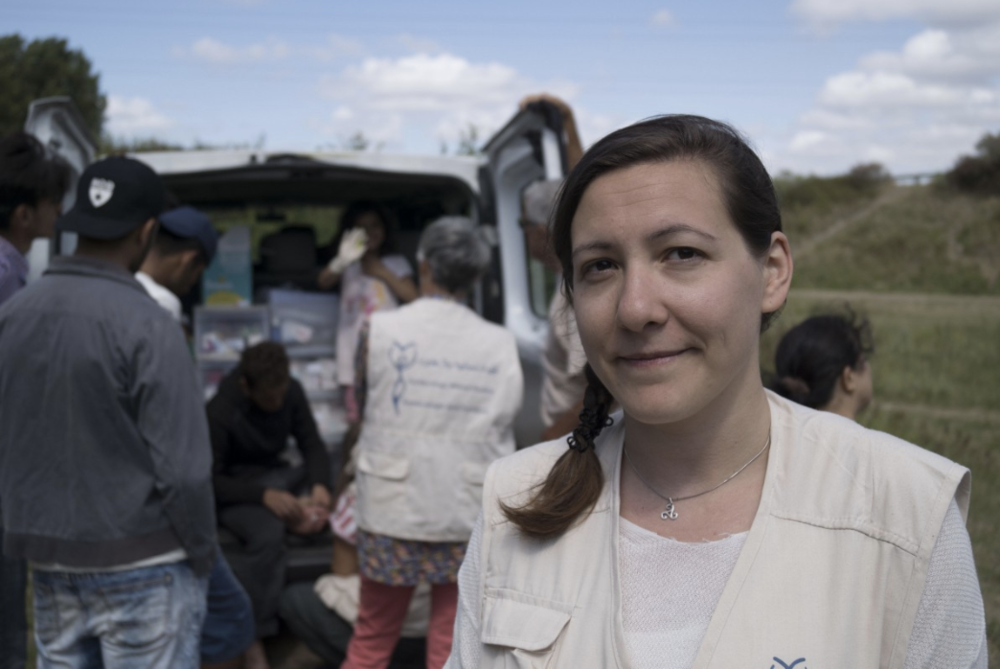 Marie N'Guyen, sage-femme et volontaire pour une mission de deux semaines avec l'ONG Gynécologies sans Frontières. (Photo : Raphaël Guillet)