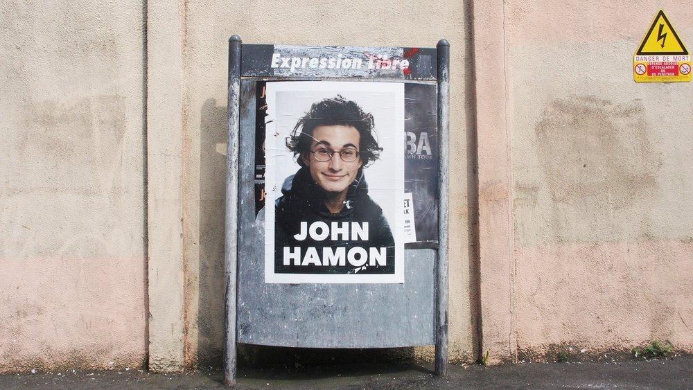 JOHN HAMON - OUI. VOUS AVEZ DÉJÀ VU CE PORTRAIT QUELQUE PART.