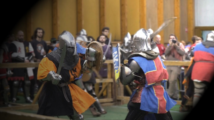 XXIst CENTURY MEDIEVAL FIGHTS - Historic re-enactment taken to the next level.