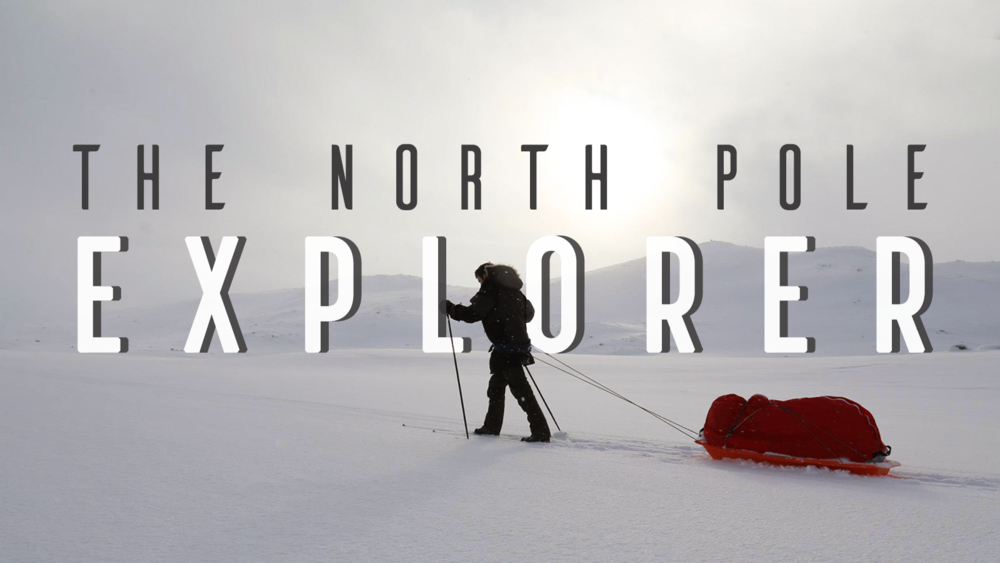 exploring north pole 360 vr
