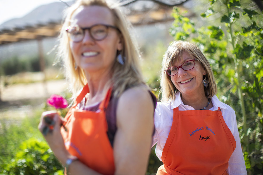 Best friends for more than 20-years, this photo was taken of Joy and Angie during their trip to Rancho La Puerta in April 2018.