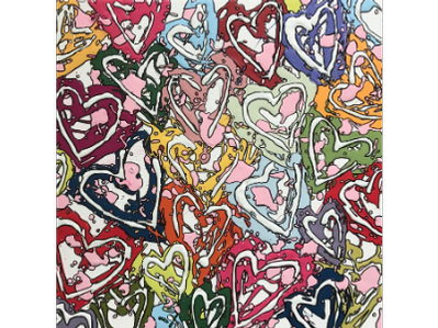 "All the Love, Original Art by Morgan Coven ""Joy Dripper"""