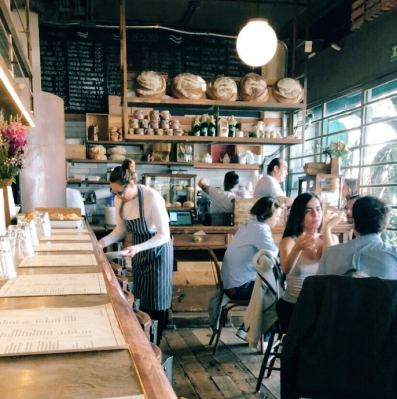 The bright and airy ambience of Lardo made you want to relax there all day long.