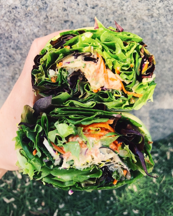 Natures Health Food and Cafe Veggie Wrap