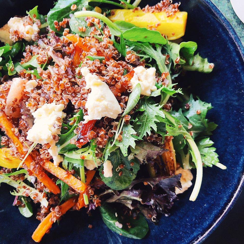 Qualia Resort Quinoa Salad