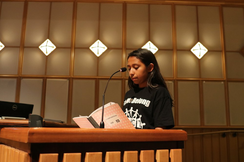 Lupita Flores, 11, says she has lived in Mountain View her whole life. She says it will be hard to make new friends if she is forced to move. (Connor Richards/PeninsulaPress)