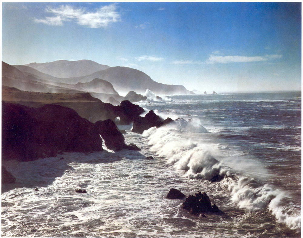 """Surf and Headlands"" by Cole Weston (1958)"