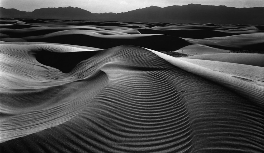 """Dunes"" by Brett Weston"