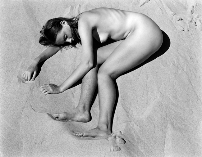 228N-Nude, 1936 - Photograph by Edward Weston