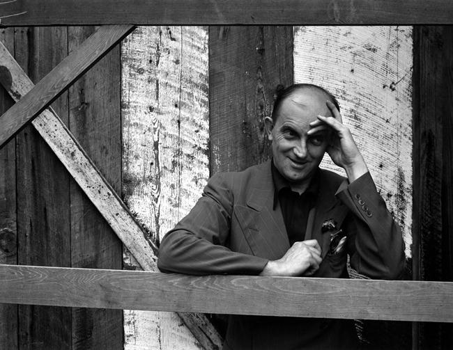Portrait of Ansel Adams by Edward Weston