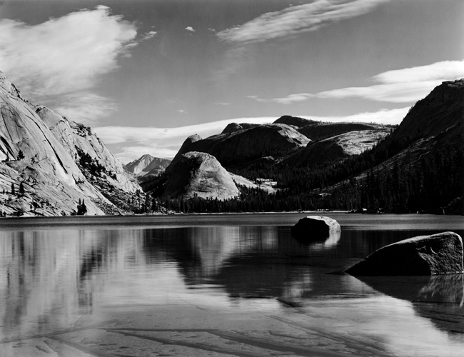 TL-1G Lake Tenaya, 1937 - Photograph by Edward Weston