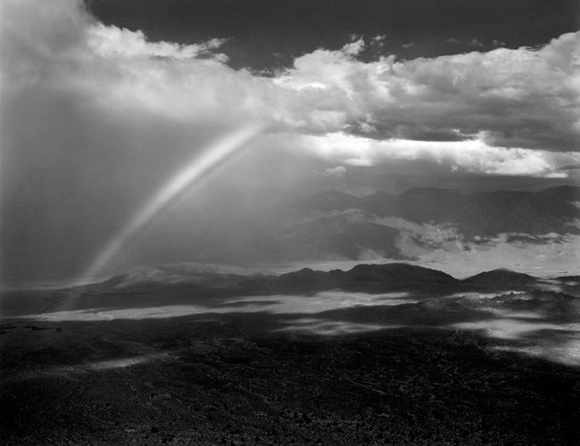 ES-OV-12G Owens Valley, 1937 - Photograph by Edward Weston