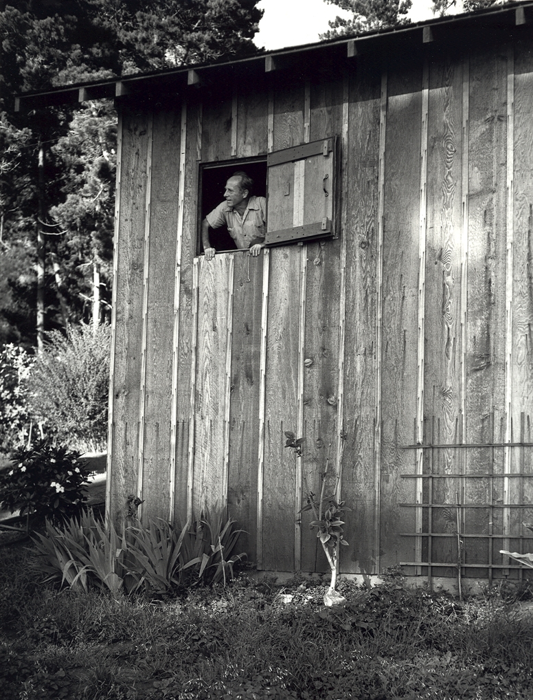 Edward Weston on Wildcat Hill