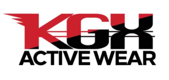 Click our logo to Go To our kGX activewear Website